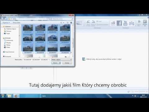 Jak obrobic film w Windows Movie Maker