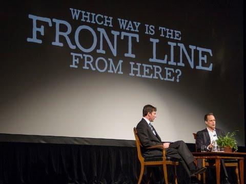Which Way Is The Front Line From Here? Sebastian Junger