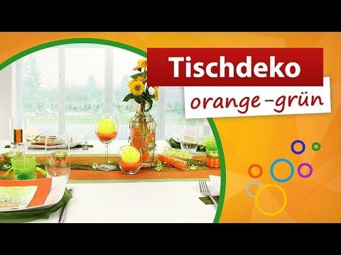 Tischdeko Grun Braun Tischdekoration Trendmarkt24