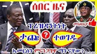 የዚምባብዌ ም/ፕ/ት ኤመርሰን ምናንጋግዋ ማን ናቸው? Who is Emmerson Mnangagwa? - DW
