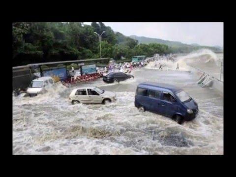MENCEKAM...!Banjir lahar dingin GUNUNG kelud 2016