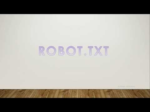 SEO for beginners tutorials (STEP-BY-STEP) | What is robots.txt and how to create it.