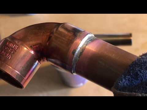 Паяем медные трубы для отопления без разговоров