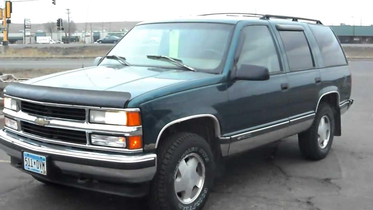 1996 Chevrolet Tahoe LS 4 Door SUV 4X4 57 Liter Votec