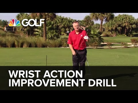 Wrist Action Improvement Drill - SwingFix   Golf Channel