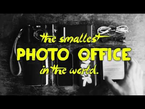 The Smallest Photo Office In the World