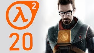 Half-Life 2 playthrough pt20 - The Streets are FILLED With Zombies!