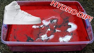 HYDRO Dipping AIR Force 1's