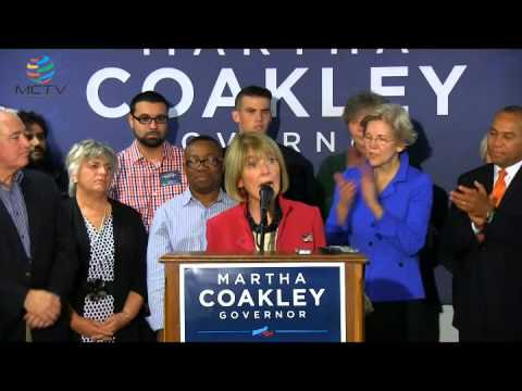Martha Coakley Concedes Governor's Race To Charlie Baker