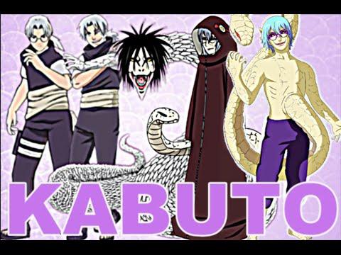 Evolution de Kabuto Naruto:kabuto's Evolution