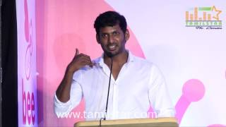 Actor Vishal Launches Bee Home HealthCare