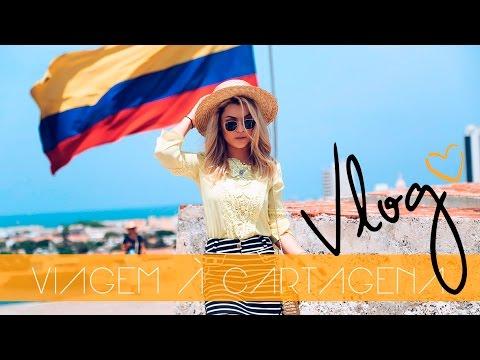 Vlog de Viagem: CARTAGENA ❥ | PERDEMOS NOSSO VÔO! + BONS DRINKS Caribeños #TaxistaSeuLouco