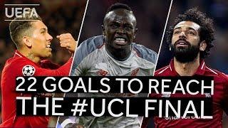 FIRMINO, MANÉ, SALAH: All LIVERPOOL goals to reach the #UCL final!