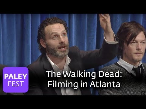 The Walking Dead - Andrew Lincoln Loves Filming In Atlanta