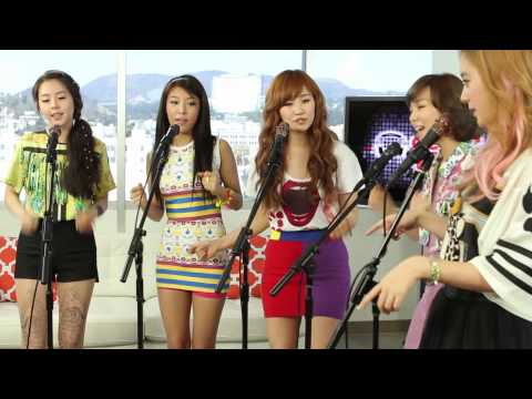 "Live On Sunset - Wonder Girls ""Wake Up"" New Song Performance A Cappella"