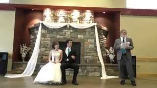 FUNNY Father of the Bride Speech - Be sure to watch the end!