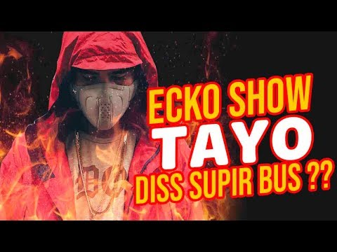 ECKO SHOW - TAYO (DISS SUPIR BUS ??) REACTION !!