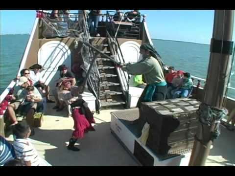 Black Dragon Pirate Ship in Port Isabel Texas - YouTube