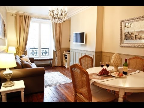 Video Tour Of Le Triomphe Elysees: Beautiful Holiday Rental Apartment in Paris France