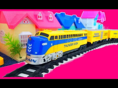 Train for children || thunder sign powerful transport high speed