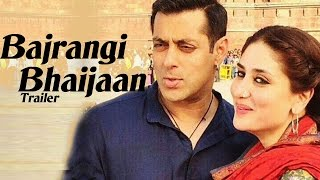Bajrangi Bhaijaan Official TRAILER RELEASES | Salman Khan, Kareena Kapoor Khan