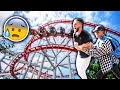 HE TRIED FORCING ME ON THIS! *DISNEYLAND TRIP*