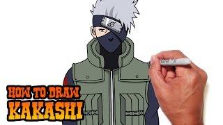How to Draw Kakashi | Naruto Shippuden