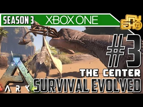 "ARK XB1 ""THE CENTER MAP"" - S3 EP3 - BIG DAMAGE!!!"