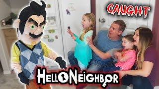 Hello Neighbor in Real Life! Broke into a Stranger's House & Get Caught!!! Part 1