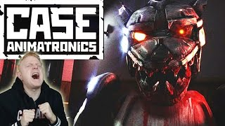 CASE: ANIMATRONICS | FNAF MEETS OUTLAST | FREE ROAM HORROR INSIDE A POLICE STATION