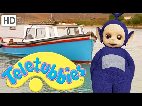Teletubbies: Going To School By Boat - Hd Video video