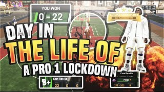 LIFE OF A PRO 1 PURE LOCKDOWN DEFENDER IN NBA 2K19!!