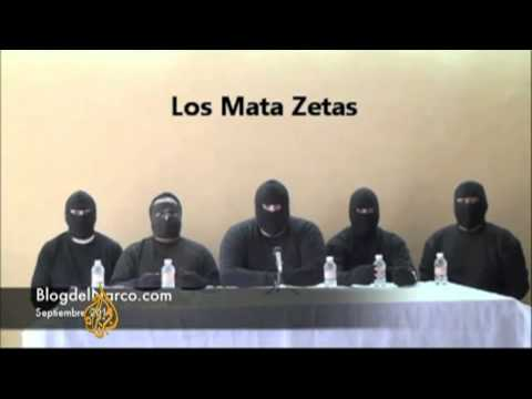 Mexico parades 'Zeta killers' on camera