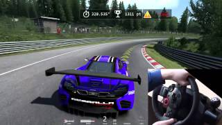 Assetto Corsa R9 280x FPS nurburgring logitech driving force gt