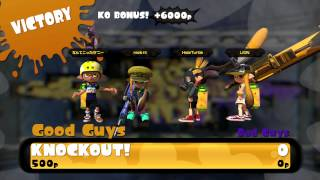 Splatoon Twin Squads - Charger Fun on Hammerhead Bridge (SZ)
