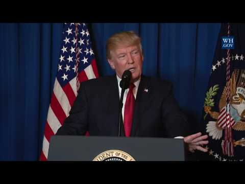 Statement by President Trump on Syria