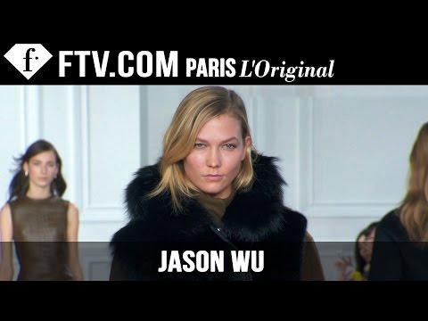 Jason Wu Fall/Winter 2015 Runway Show ft Karlie Kloss | New York Fashion Week NYFW | FashionTV