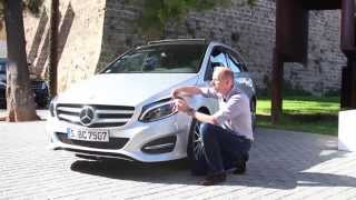 Die neue Mercedes-Benz B-Klasse im ultimativen R+V24 Drive-Check