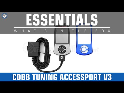 COBB Tuning AccessPORT V3 In-depth walk through - What's in the Box?