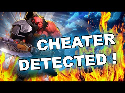 Dota 2 Cheater - Axe with MAPHACK and SCRIPTS!
