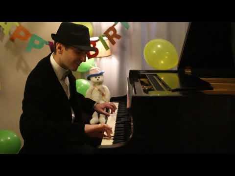 Happy Birthday! - Jazzy Piano Arrangement by Jonny May