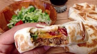 Taco Bell Crunchwrap Supreme / تاكو بيل كرنش راب سوبريم