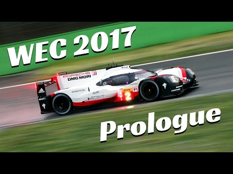 WEC 2017 Prologue at Monza circuit - Highlights, night stage & Pure Sound!