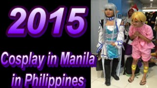 Anime Cosplay in Philippines the best 2015.