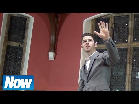 Nick Jonas talks Jonas Brothers split & Demi Lovato at Oxford University