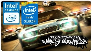 [Celeron 847] NFS Most Wanted ~ Intel HD Graphics 2000