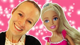 VLOG mit Barbie | Kathi besucht mit XXL BARBIE das DIY Inspiration Studio | Washi Tape, Jelly Beans