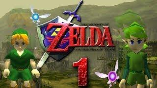 Let's Play The Legend of Zelda Ocarina of Time Part 1: Der Held der Zeit