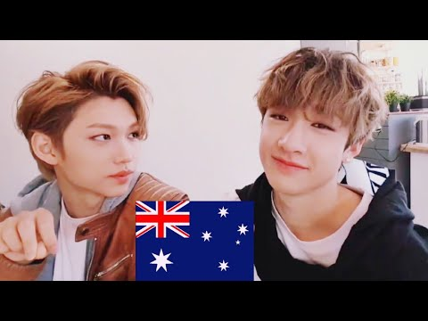 Aussie Line speaking English 🔥 ( ft. Stray kids members ) compilation 5