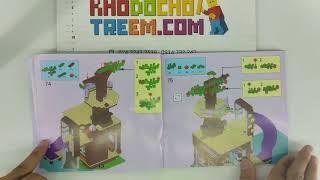 Hướng dẫn lắp ráp Lepin 01047 Lego Friends 41122 Adventure Camp Tree House giá sốc rẻ nhất